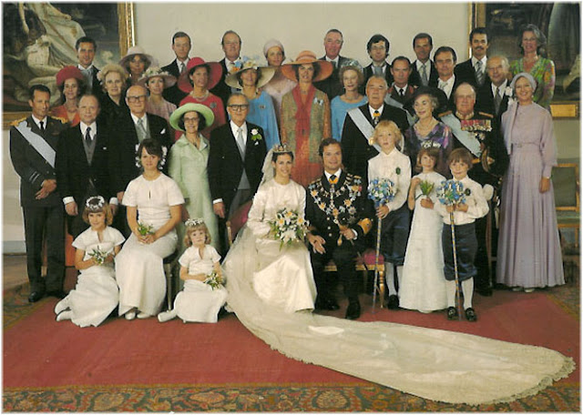 Wedding of King Carl XVI Gustaf of Sweden and Silvia
