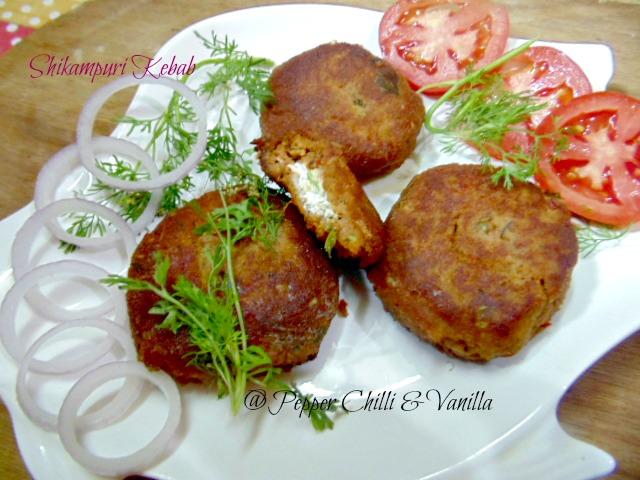 shikampuri kabab recipe