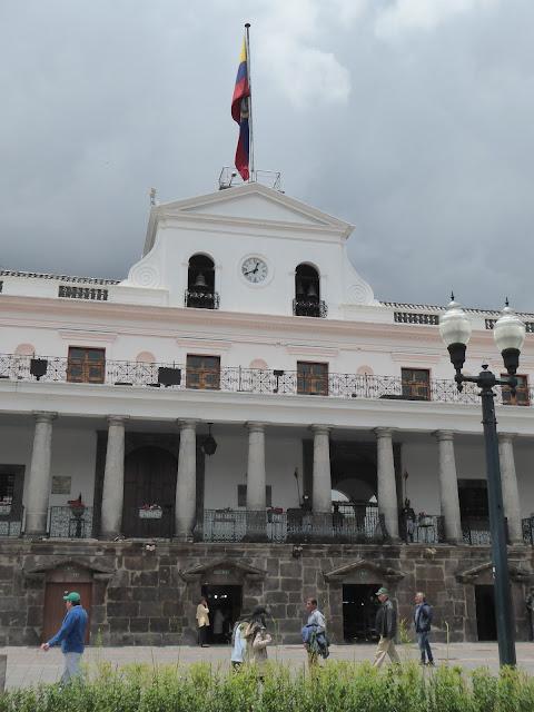 Wir starten unsere Reise in der Hauptstadt Quito