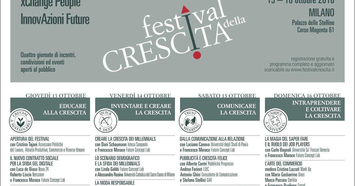 Bio Fashion @ Festival Della Crescita