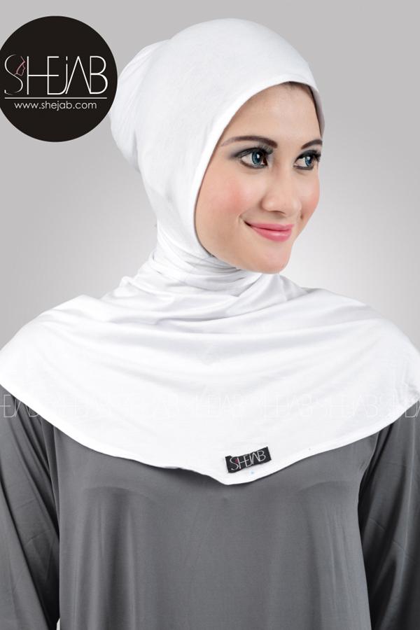 Ciput Ninja Antem Putih Shejab
