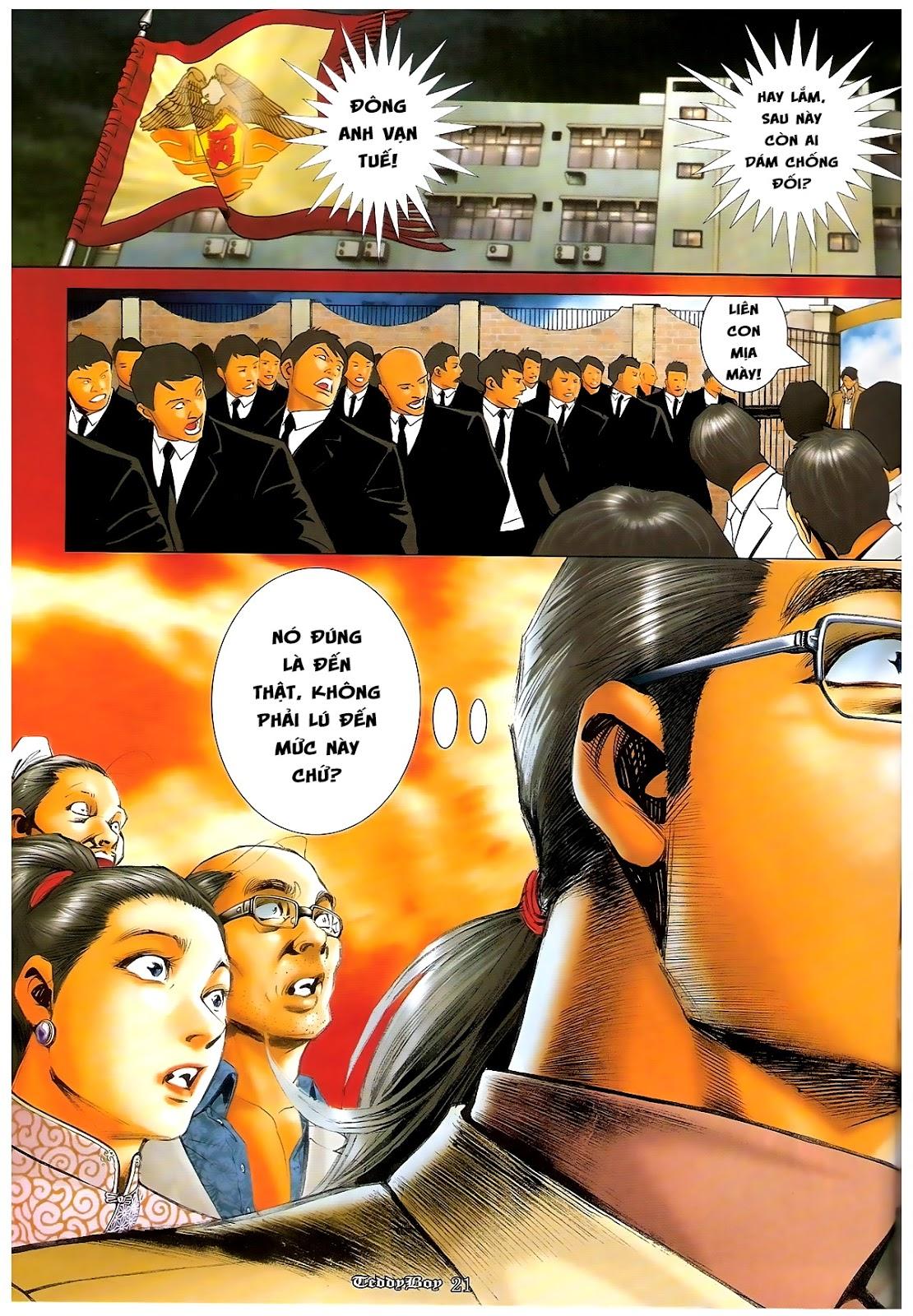 Người Trong Giang Hồ - Chapter 1218: 1 vs 1000 - Pic 20