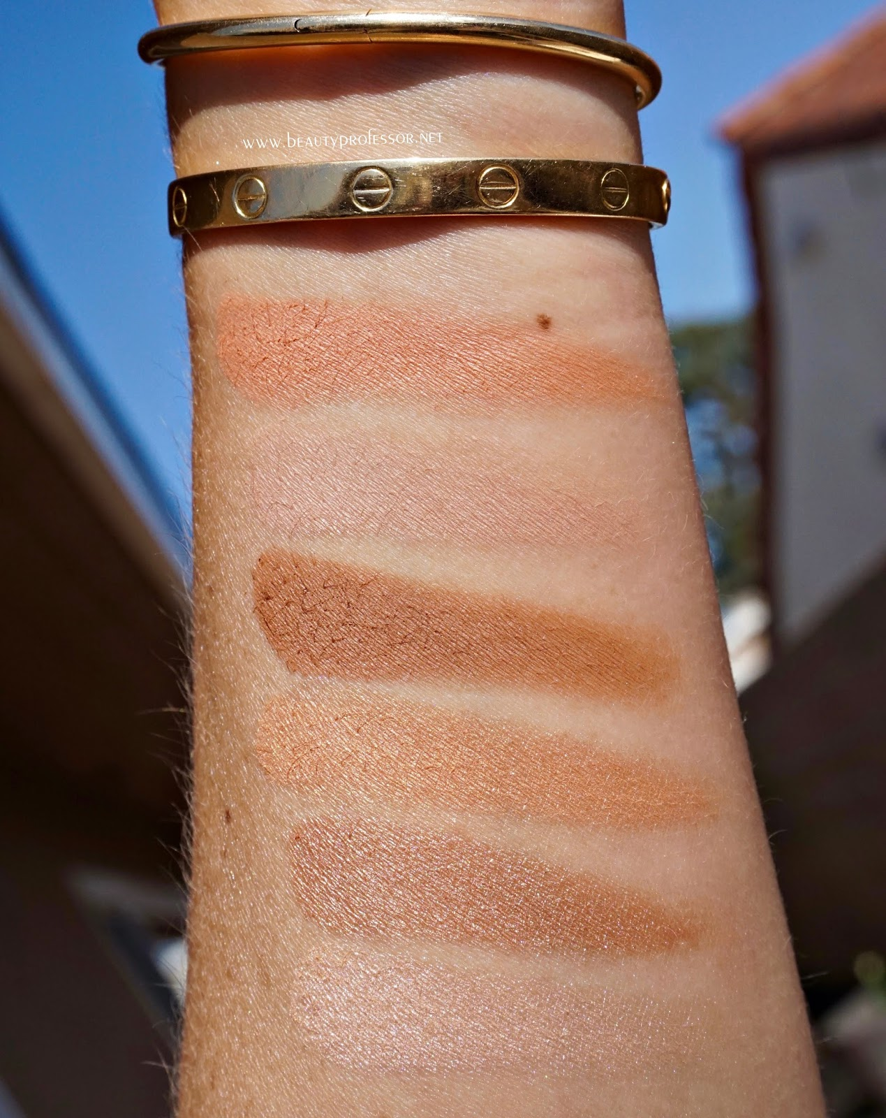 by terry happy sun swatches