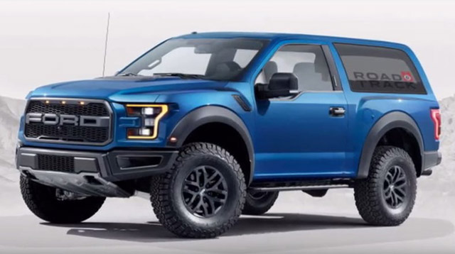 The Ford Bronco Is Back Or If Nothing Else It Will Be In