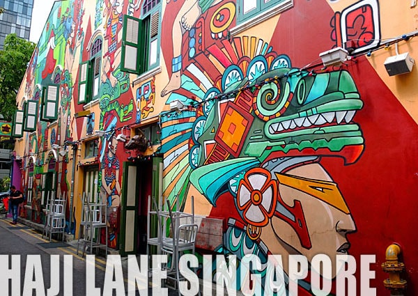 Visiting Haji Lane