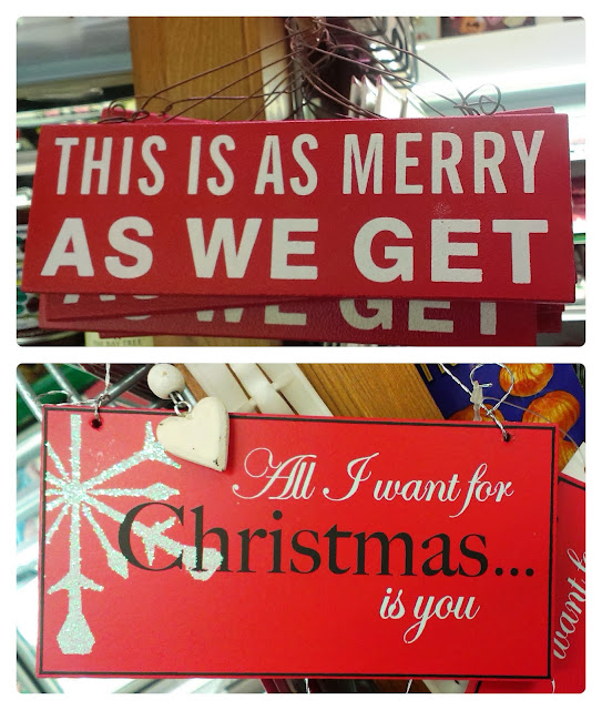 Farringtons Christmas Evening Signs
