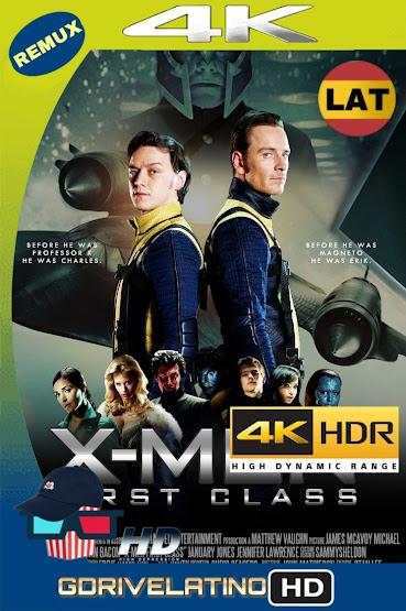 X-Men: Primera Generación (2011) BDRemux 4K HDR Latino-Ingles MKV