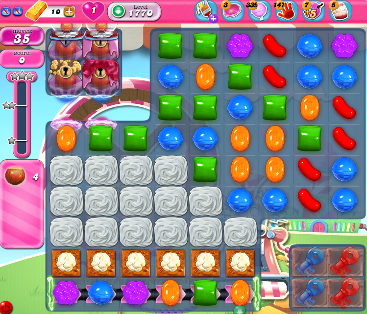 Candy Crush Saga 1770