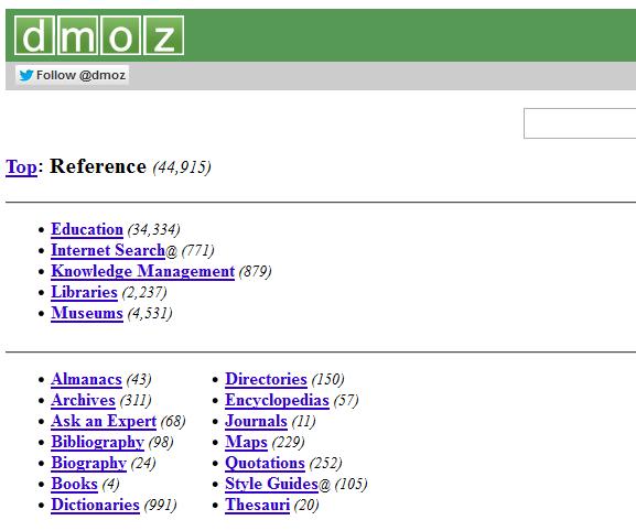 Cara Submit Dan Kirim Blog di DMOZ Web Directory