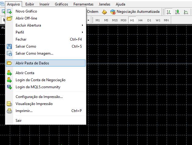 Instalar indicadores e Sistemas no MetaTrader 4