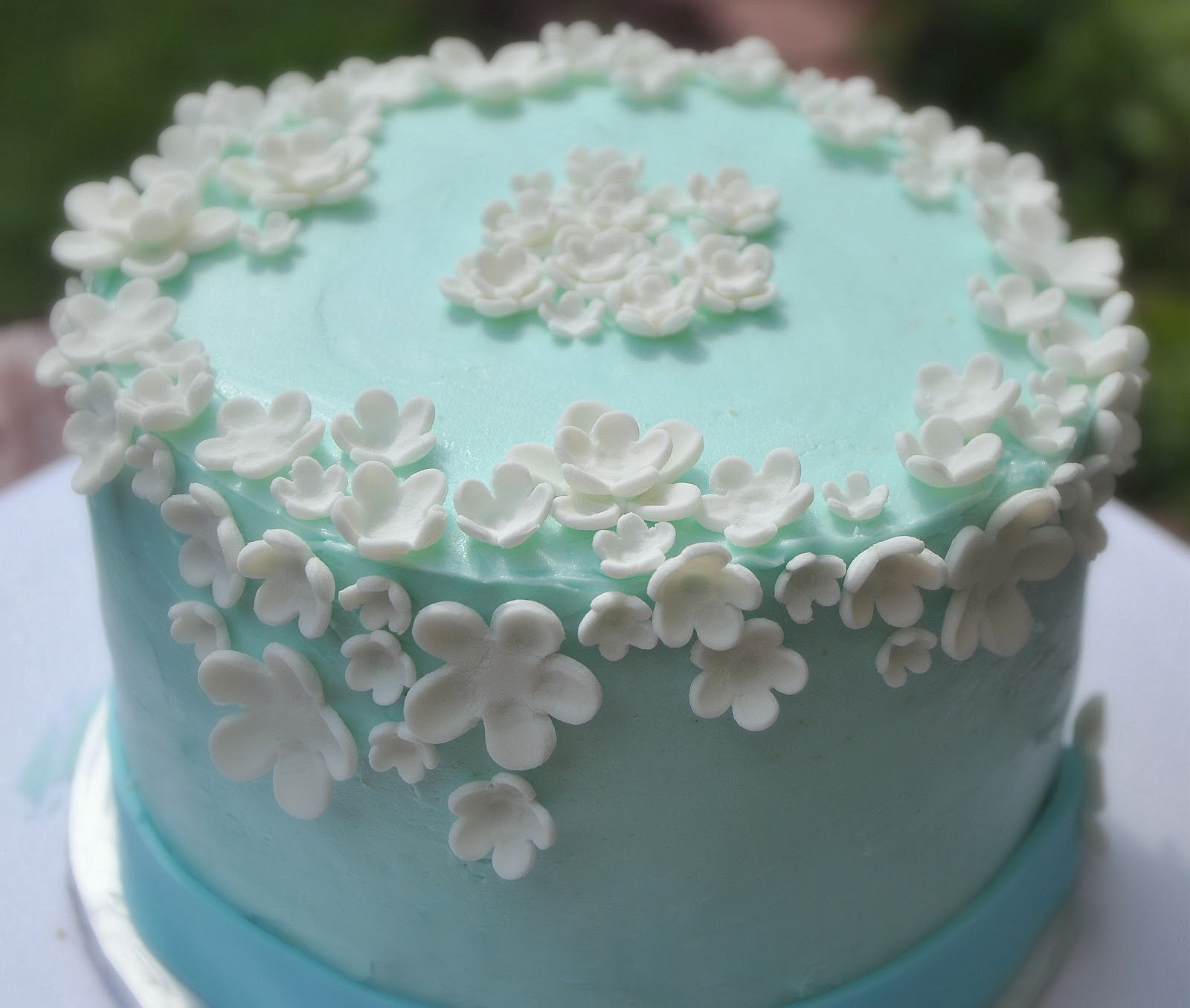 TurtleCraftyGirl Flower Birthday Cake