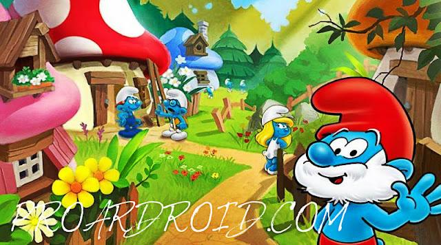 لعبة Smurfs' Village Apk v1.68.0 مهكرة كاملة للاندرويد (اخر اصدار) logo