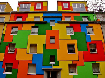 House of colors, Cologne, Germany