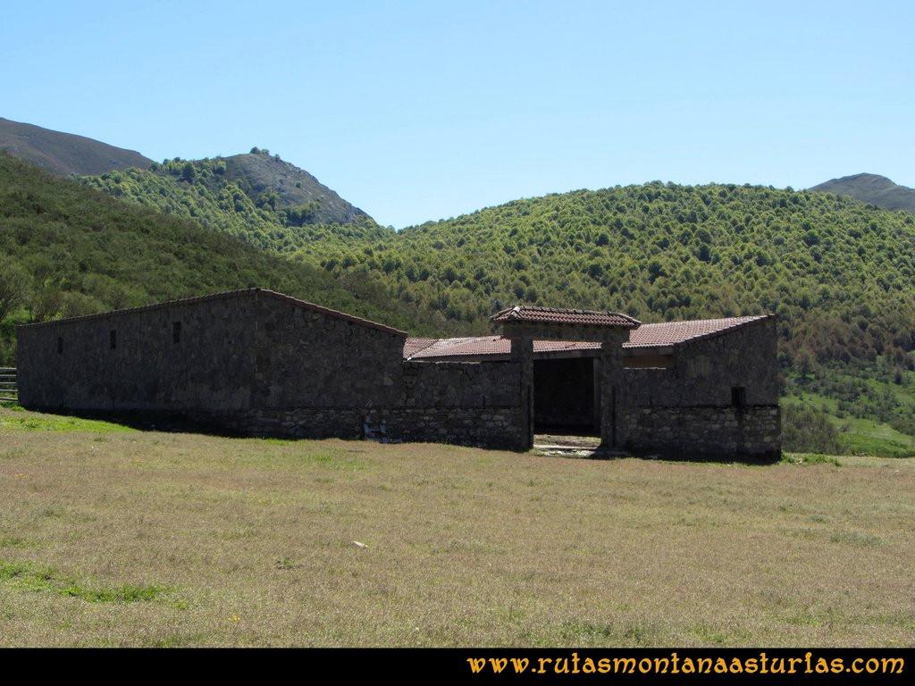 Transcantábrica Tarna-Ponga: Construcción en el camino