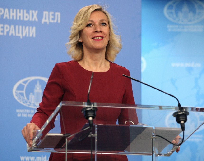 Russian MFA ironically reprimanded Stoltenberg's statement after his meeting with Zaev