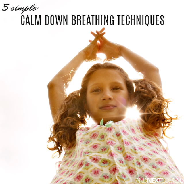 How to teach calm down breathing to kids