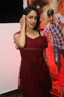 Pragya Jaiswal in Stunnign Deep neck Designer Maroon Dress at Nakshatram music launch ~ CelebesNext Celebrities Galleries 063.JPG