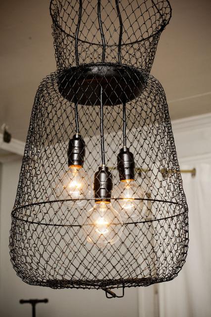 LET'S STAY: Cool Industrial Repurposed Lighting Fixtures