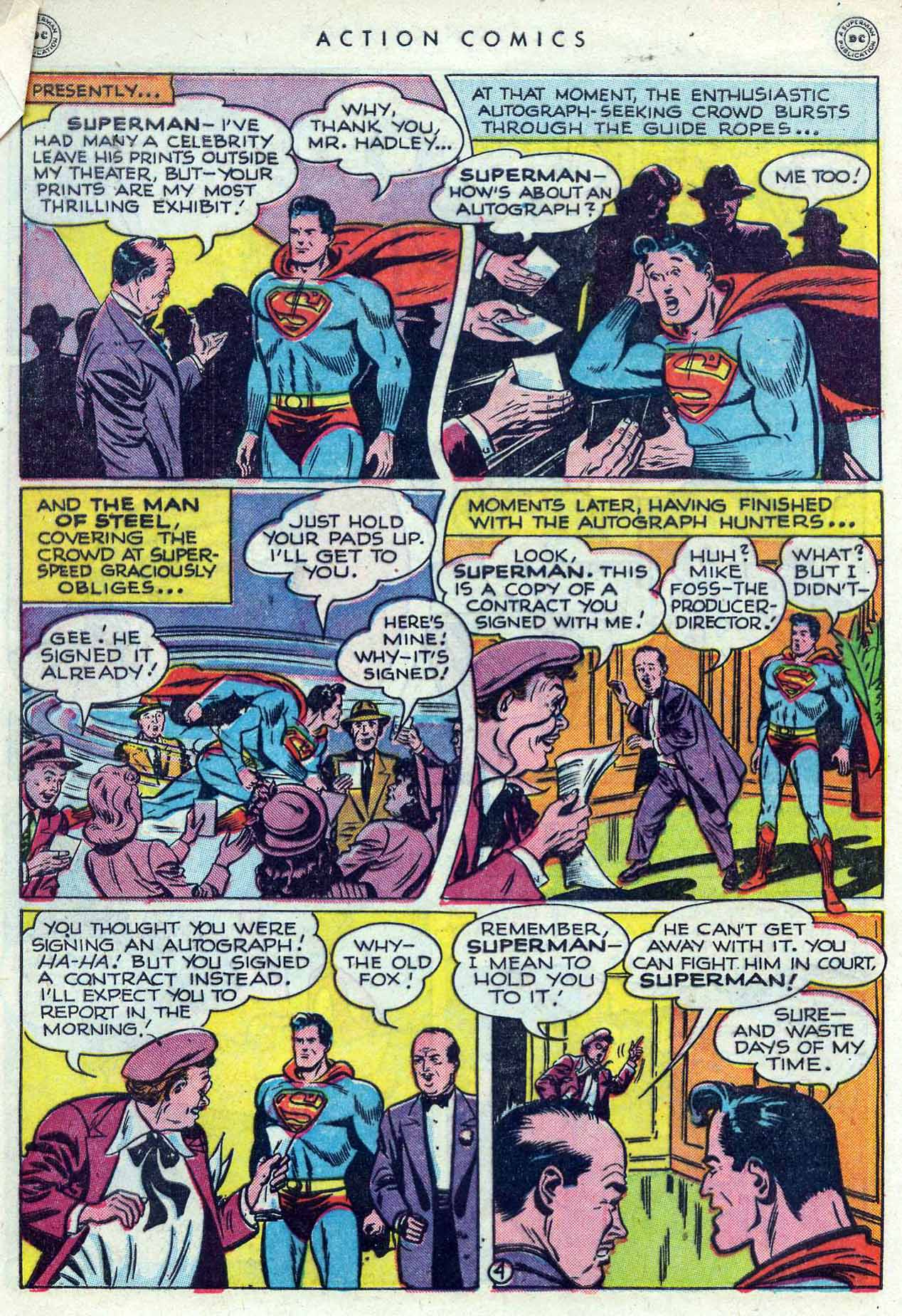 Read online Action Comics (1938) comic -  Issue #120 - 6