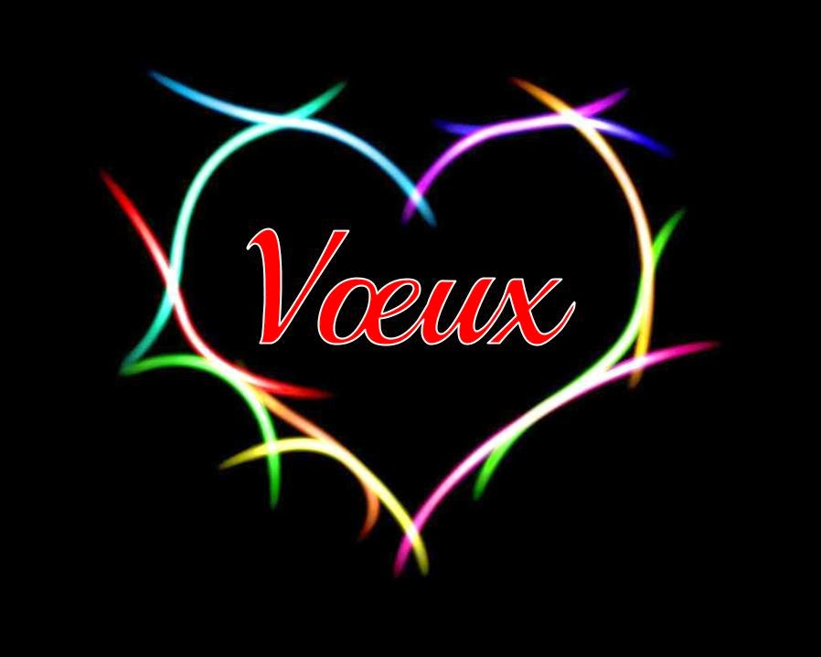 Vœux d'amour et de bonheur