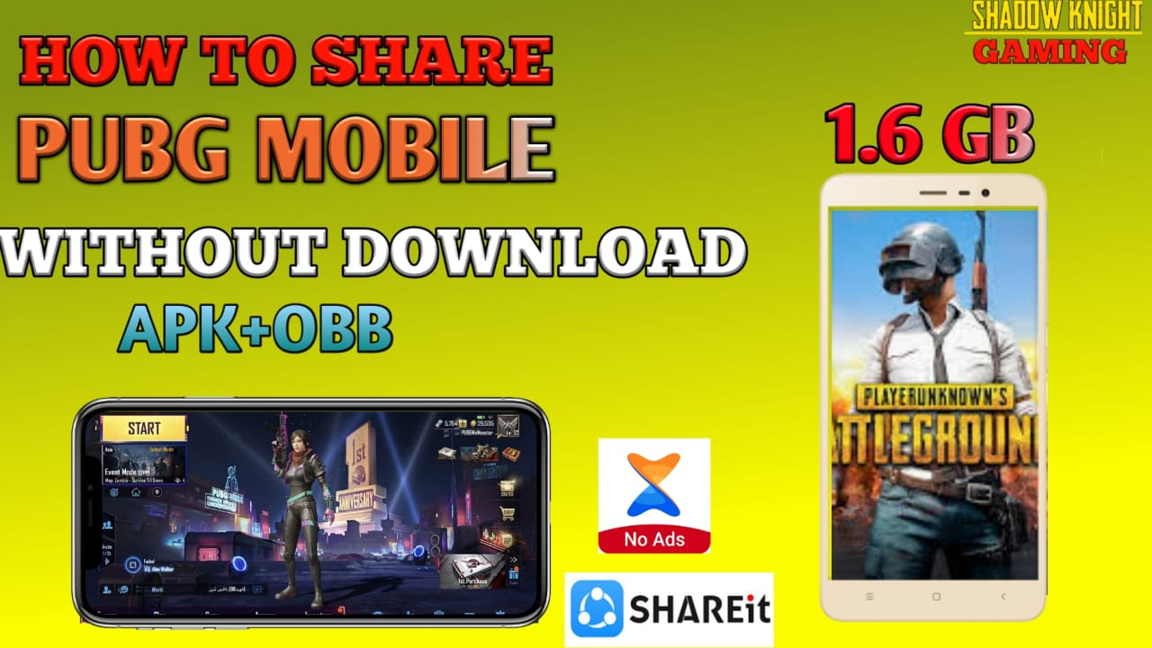 UPDATE PUBG Mobile without downloading