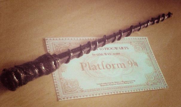 DIY Varinha Magica Harry Potter