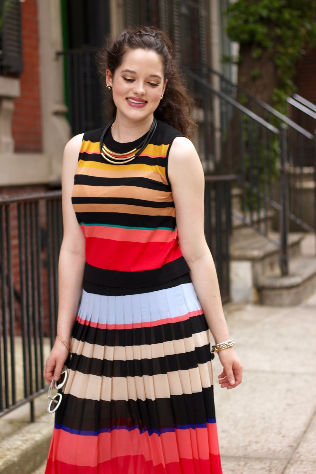 rainbow stripes fashion