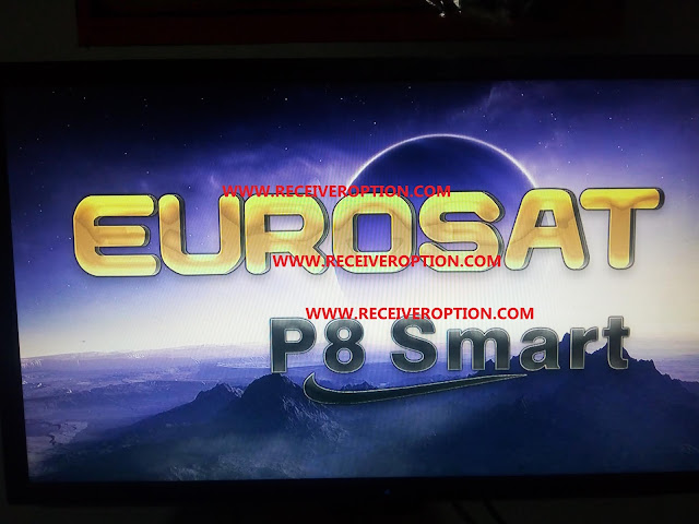 EUROSAT P8 SMART HD RECEIVER BISS KEY AUTO ROLL NEW SOFTWARE