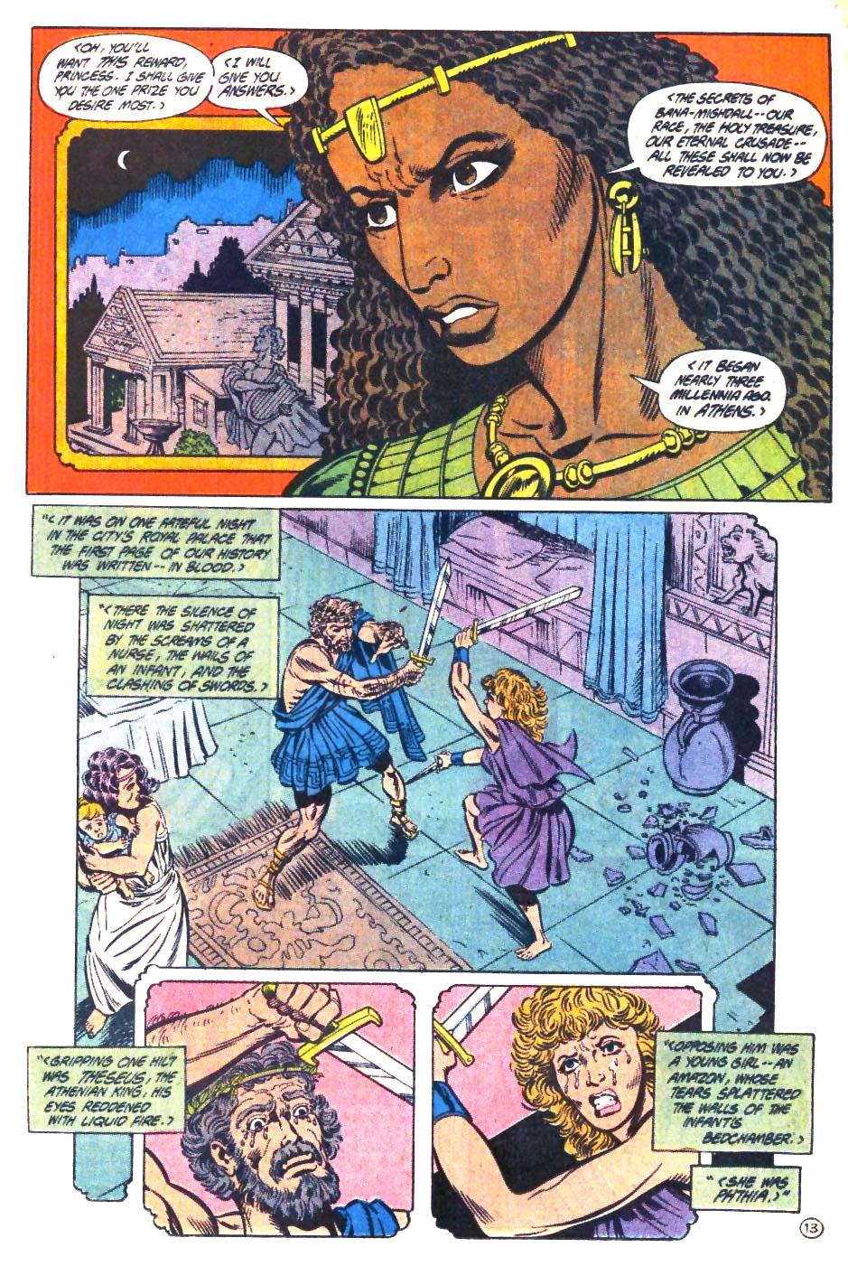 Read online Wonder Woman (1987) comic -  Issue #33 - 14