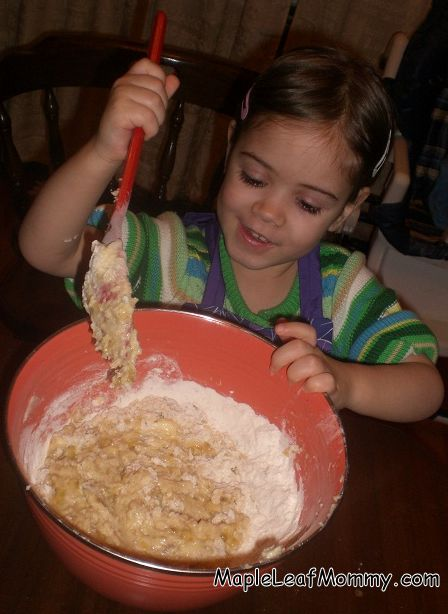Raspberry Banana Bread Recipe Maple Leaf Mommy