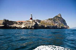 Punta de Europa y el Peñón de Gibraltar