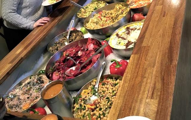 Vegetarian cafe in Stockholm