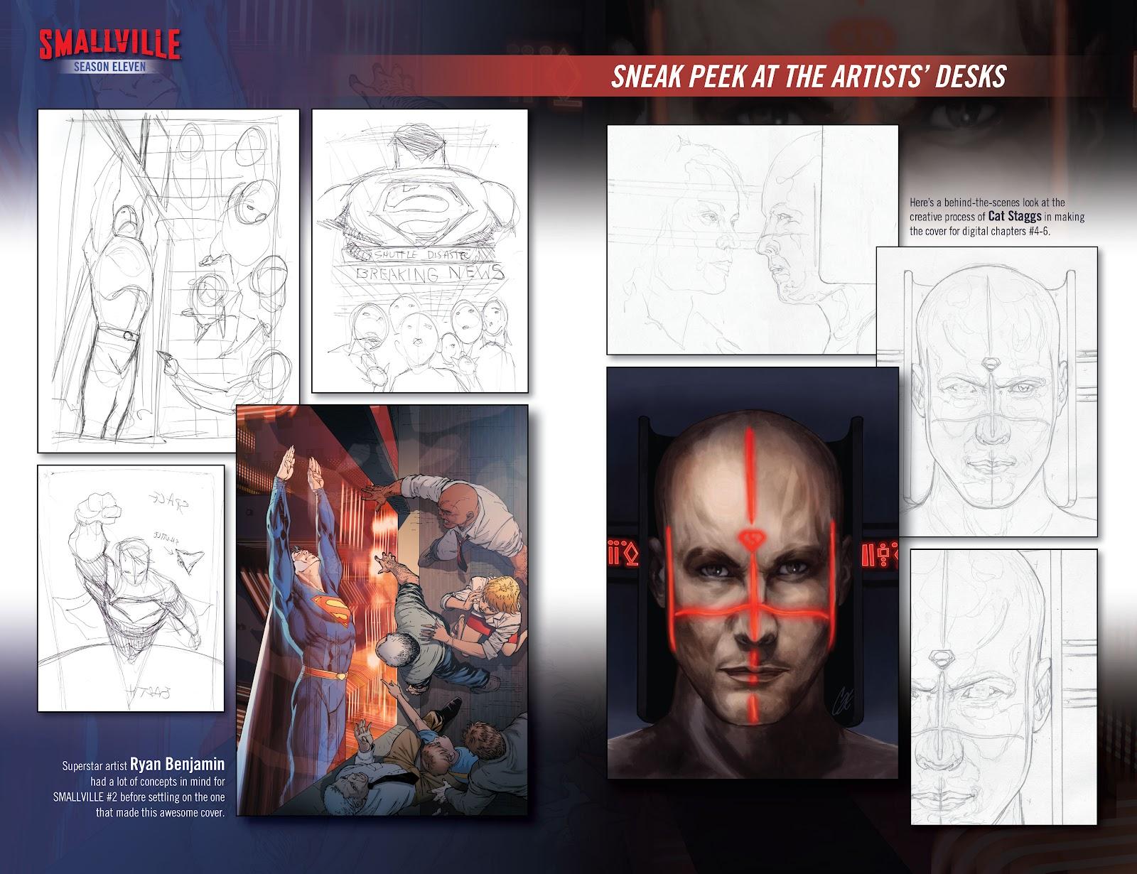 Read online Smallville Season 11 [II] comic -  Issue # TPB 1 - 138
