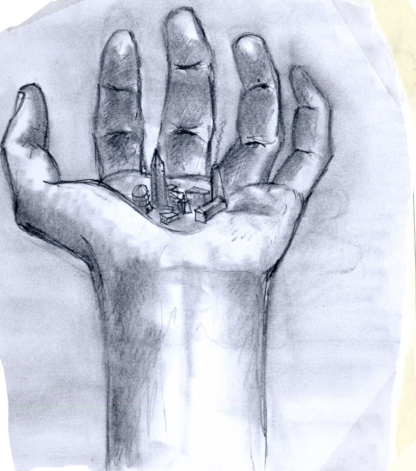 Scales On Hand Drawing For Art