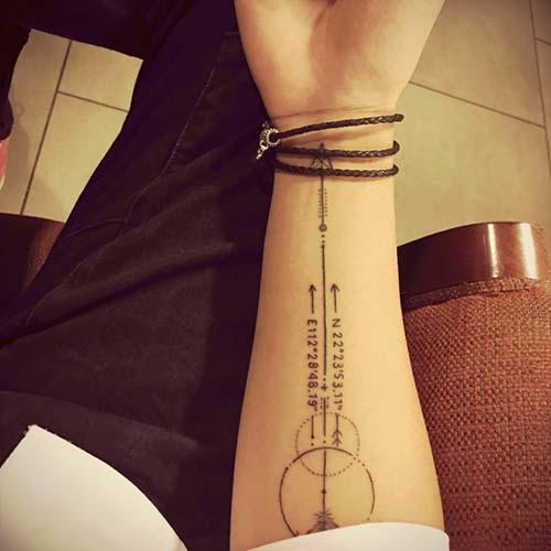 ok dövmeleri arrow tattoos 16