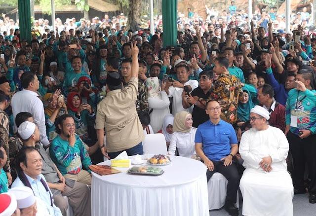 Prabowo: Impor Pangan Hancurkan Petani Kita