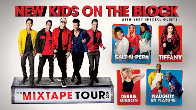 NKOTB - MIXTAPE TOUR 2019