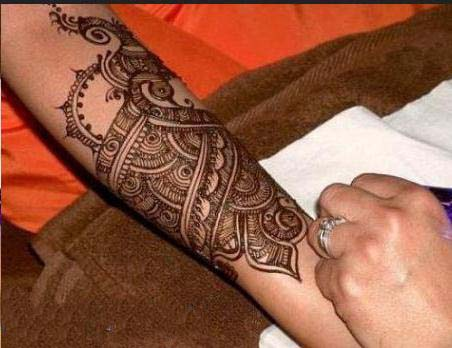 Simple Eid Mehndi Designs 2013 : Most recent and best peacock mehndi designs for girls