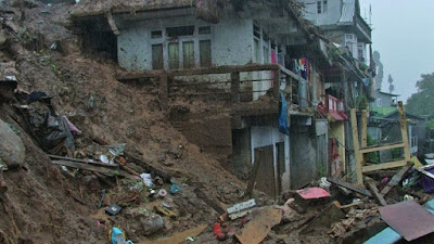 Six high-risk landslide zone of Darjeeling Hills