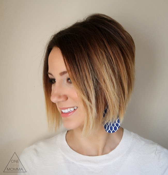 Short Hair Ombre Tutorial How To Do Ombre At Home One