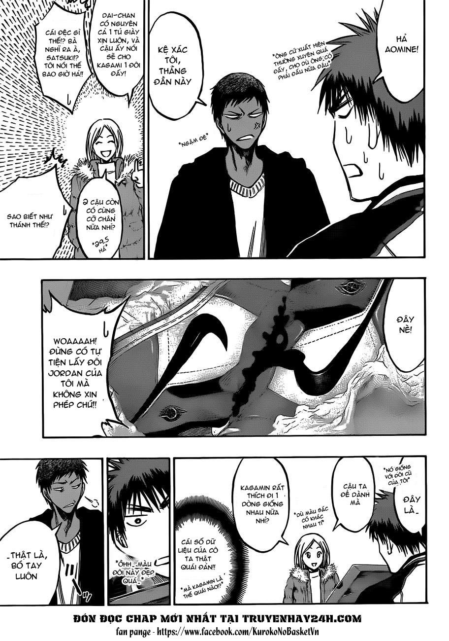 Kuroko No Basket chap 174 trang 11