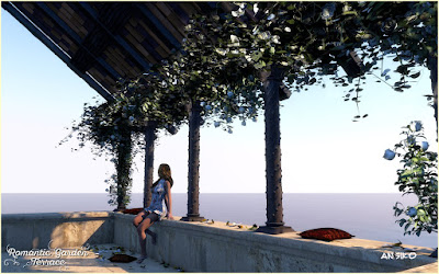 Romantic Garden Terrace