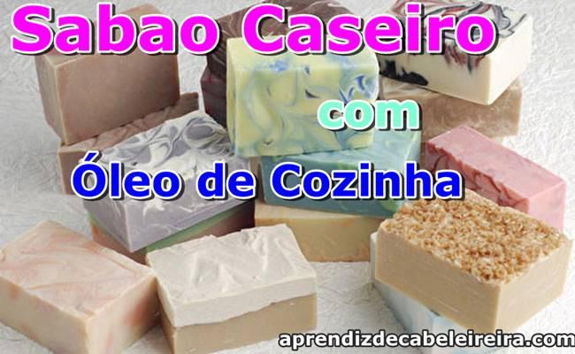 SABÃO CASEIRO com ÓLEO DE COZINHA USADO