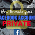 Set Facebook to Private