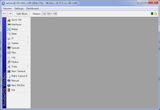Конфигурация RouterOS в Winbox