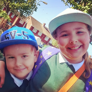 Top Ender and Big Boy off to School