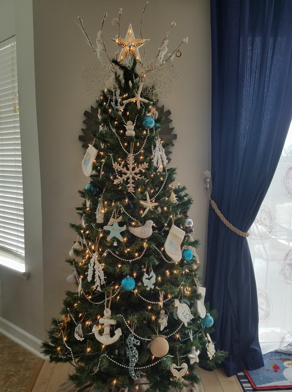Everything Coastal Coastal Christmas Trees  Part 2