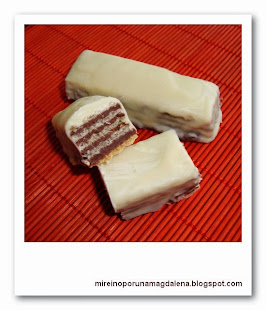 Huesitos de chocolate blanco