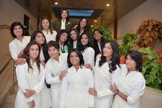 Pakistan women's cricket team's off-duty kurtas.