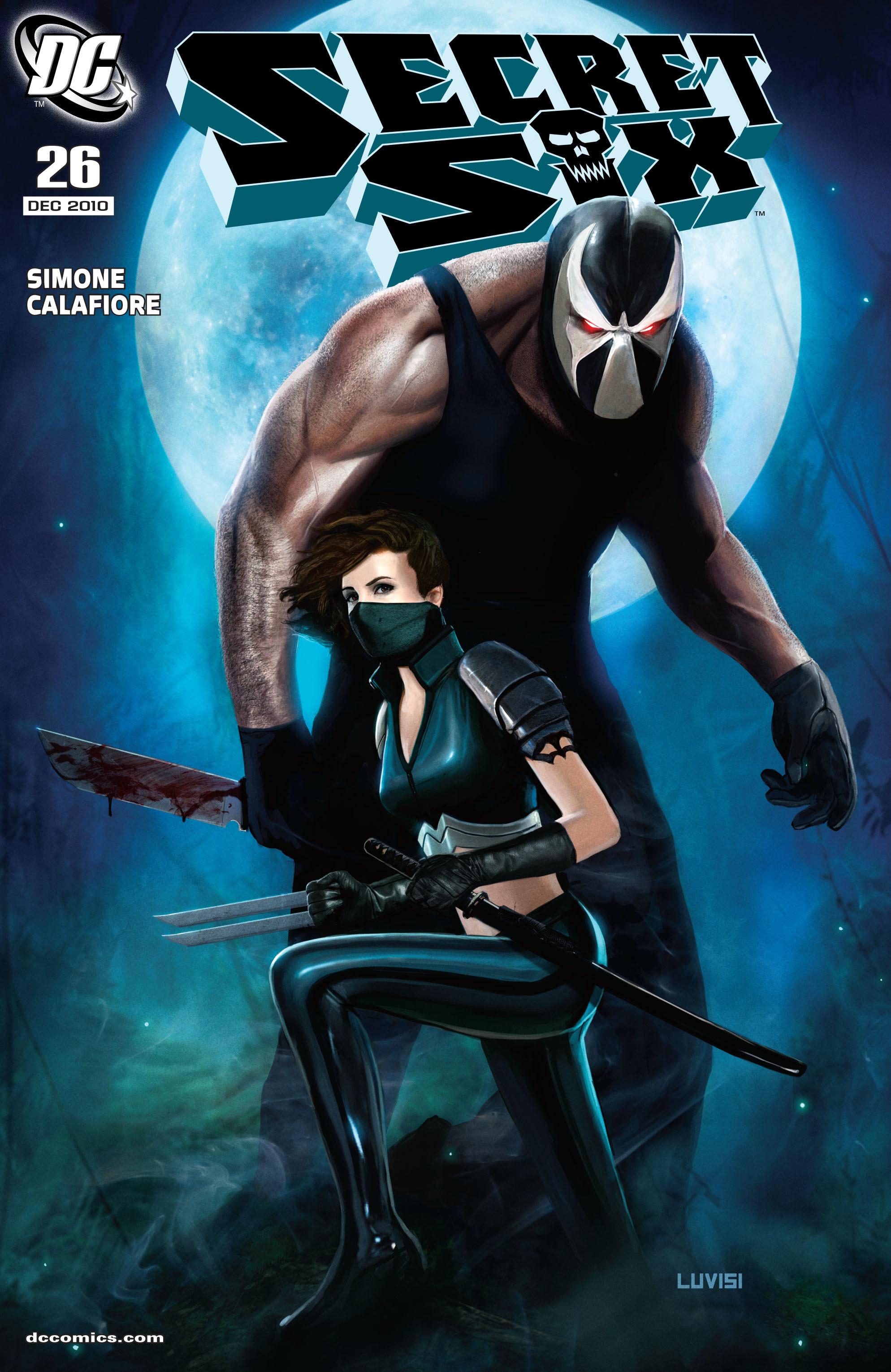 Read online Secret Six (2008) comic -  Issue #26 - 1